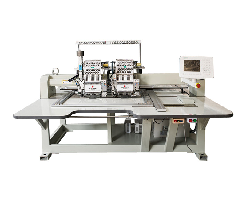 Double-headed device embroidery machine YSBSSC1202