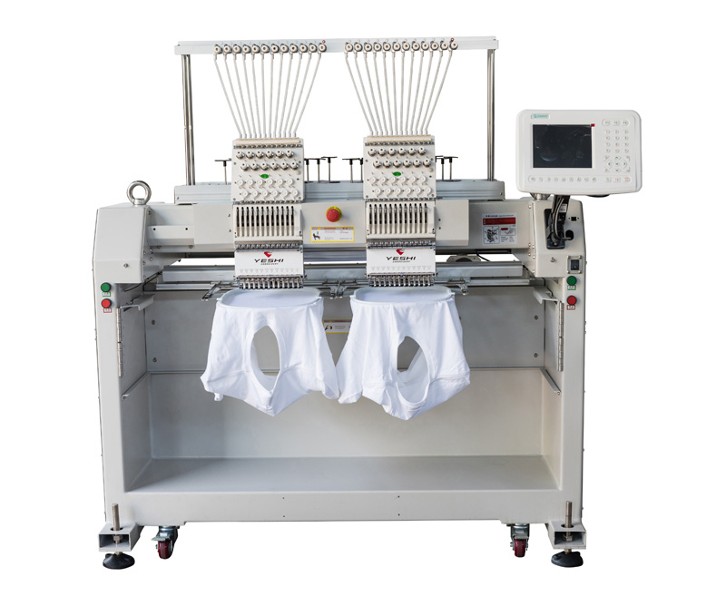 Double head embroidery machine YSCT1202
