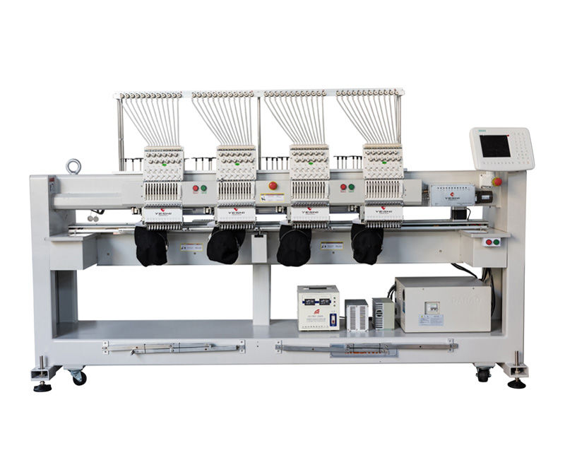 Four head cap embroidery machine YSCT1204