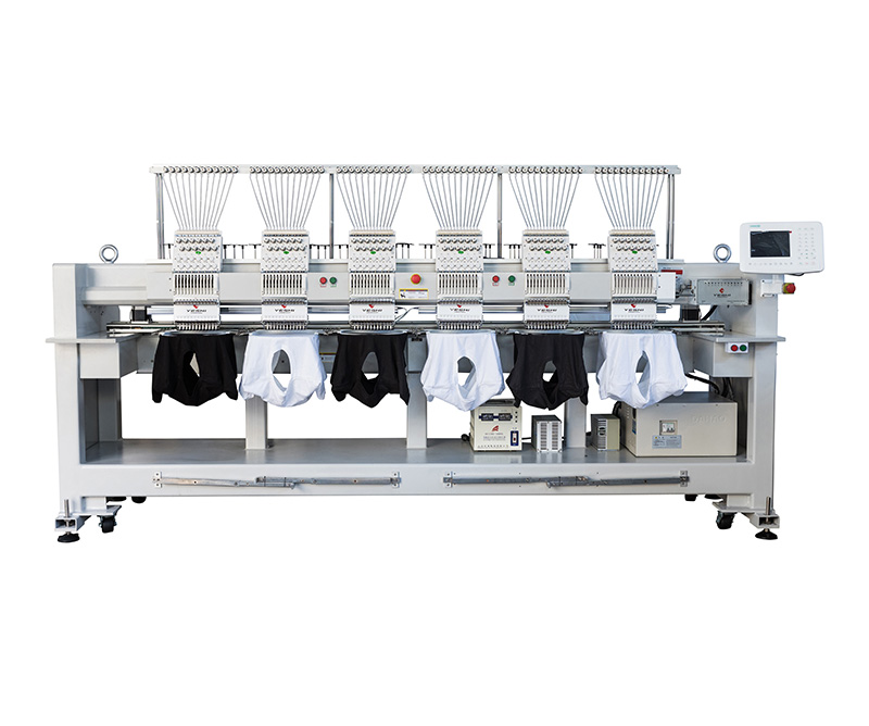 Six head embroidery machine YSCT1206