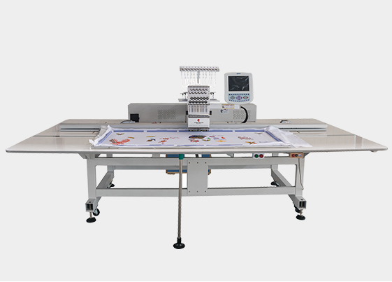 What are the characteristics of towel embroidery machine