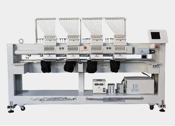 Embroidery process of computer embroidery machine